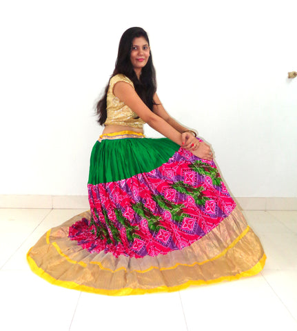 Indian Beautiful Navratri Skirt