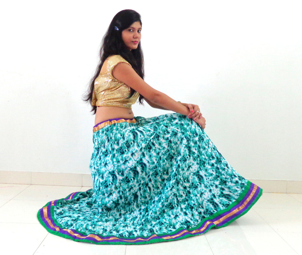 Cotton Printed Navratri Skirt