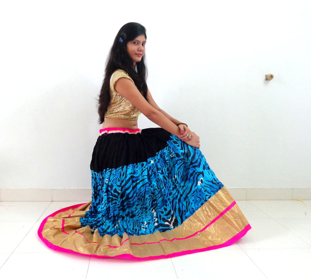 Special Bollywood Style Fashion Skirt