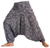 Cotton Rayon Harem Pants