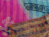 Kantha Hand Embroidered Scarf Scarve