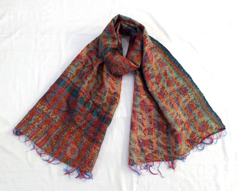 Hand Quilted Women Gypsy Scarf Scarve