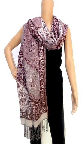 Woman Fashion Pashmina Woolen Stole