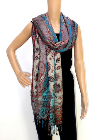 Indian Fashion  Pashmina Woolen Stole
