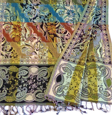 Exclusive Design Pashmina Woolen Silk Stole