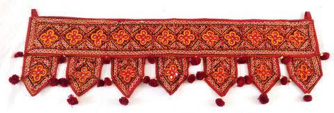 Bohemian Indian Embroidered Toran