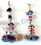Vintage Afghan Antique Tassel ( 2PC)