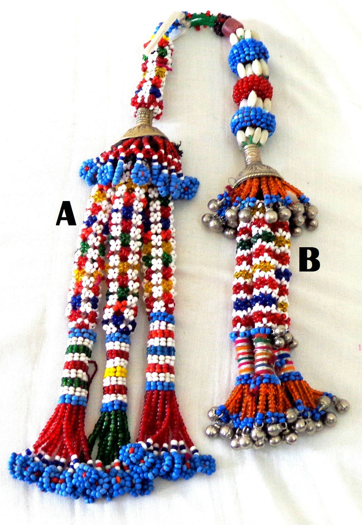 Boho Hippe Indian Tassel  ( 2PC)
