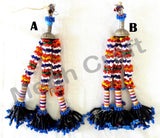 Vintage Banjara  long Bead Tassel( 2PC)