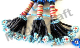 Afghani Tribe Beads Handmake Tassel( 2PC)