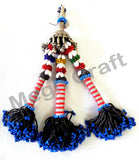Banjara Afghanistan Beaded  Tassel( 2PC)