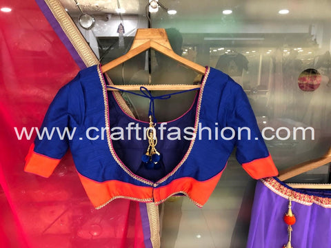 Designer Chaniya Choli With Handmade Tassel