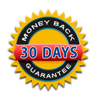 30-Day Money Back Guarantee Badge
