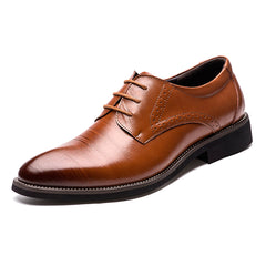 High Quality Genuine Leather Men's Derby Shoes