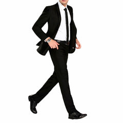 Men's Black Formal Pants