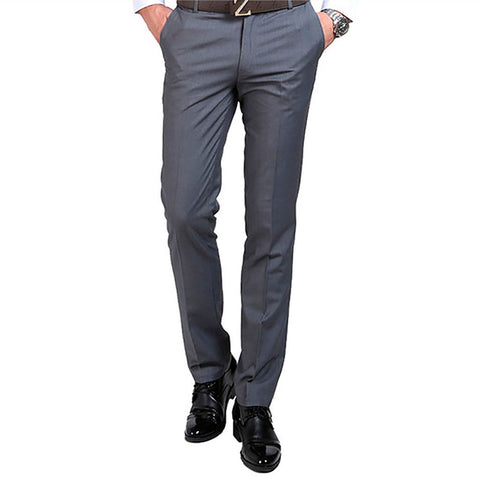 Men's Slim Fit Suit Pants