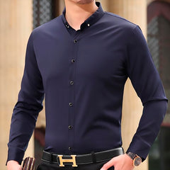 Modern Button Down Shirt - Men's Casual Dress Shirt