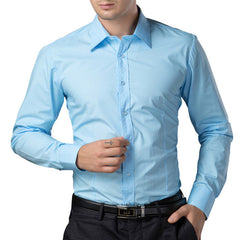 Business Casual Fashion Dress Shirt