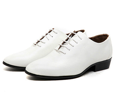 Men's White Formal Oxfords Shoes