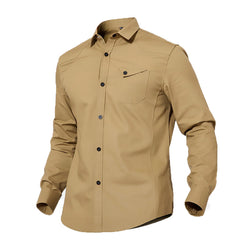 Tactical Long Sleeve Shirt - Military Design Inspired Shirt