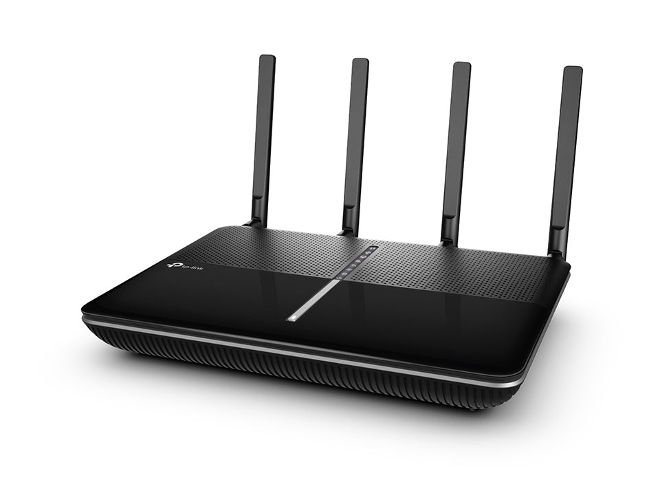 TP-Link Archer VR2800 AC2800 2.8Gbps Wireless MU-MIMO VDSL/ADSL Modem Router 2167Mbps@5GHz 600Mbps@2.4GHz 4x1Gbps LAN/WAN 2xUSB 4xAntennas ~VR2600 - Straight Forward AV and IT