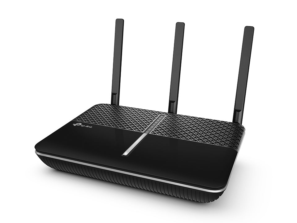 TP-Link Archer C2300 AC2300 2300Mbps Gigabit Wireless Dual Band Router 5GHz@1625Mbps 2.4GHz@600Mbps MU-MIMO 4x1Gbps LAN 1x1Gbps WAN 2xUSB 3xAntennas - Straight Forward AV and IT