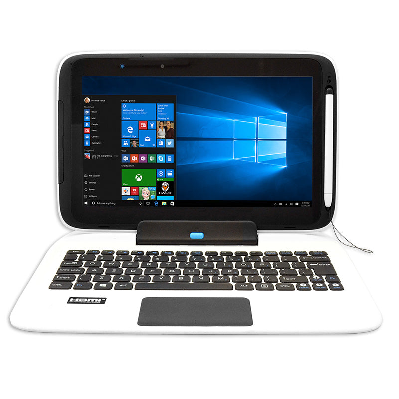 "Leader Tab W230V2, 10.1"" /Intel Z3735F/IP51/ 2GB/64GB/WIFI+BT/8100mhA/hard keyboard/W8.1+Intel IES/1Yr warranty - Straight Forward AV and IT"