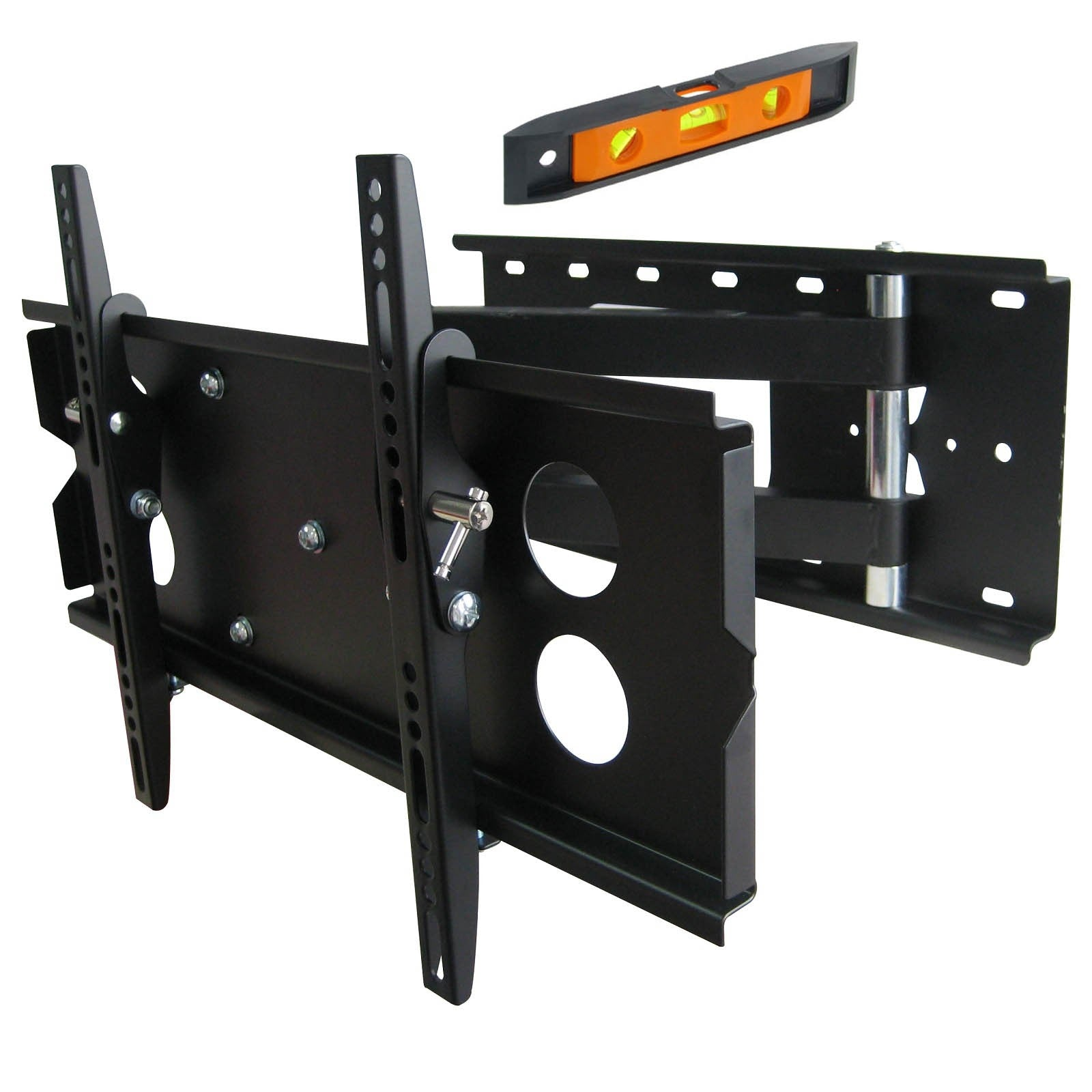 "23-37"" inch LED Plasma LCD TV Tilt Swivel Corner Wall Mount VESA Bracket PLB126S.bl - Straight Forward AV and IT"