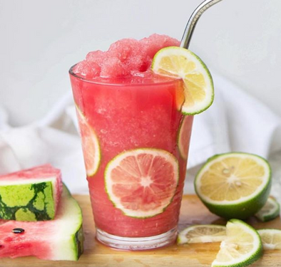 Kombucha Watermelon lime slushee