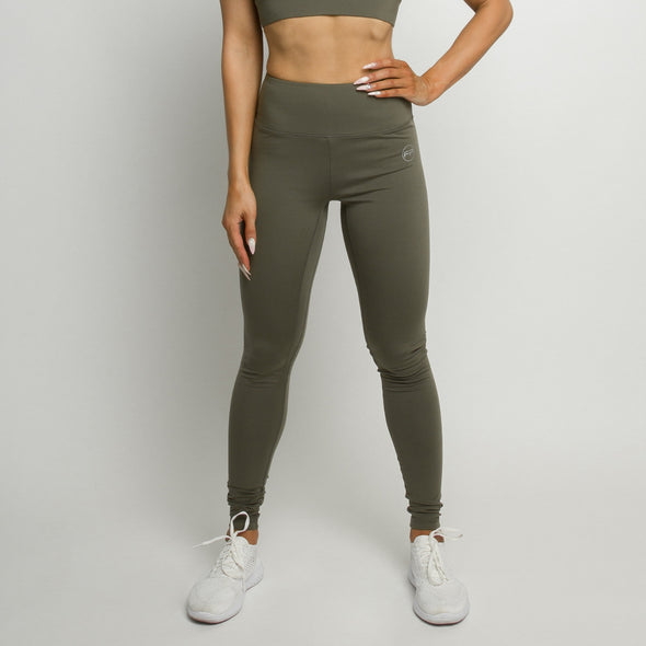 Flawless Leggings - Olive Green