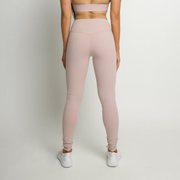 Flawless Leggings - Pearl Pink