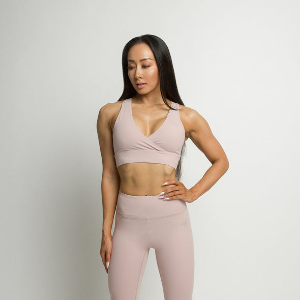 Flawless Sports Bra - Pearl Pink