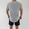 Mens Scoop Tee - Grey