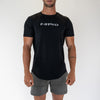 Mens Scoop Tee - Black