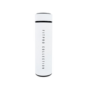 White Steel Water Bottle