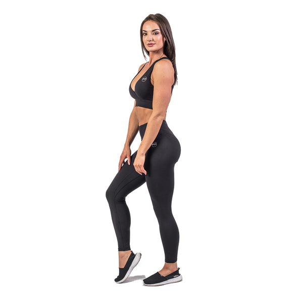 Flawless Leggings - Jet Black