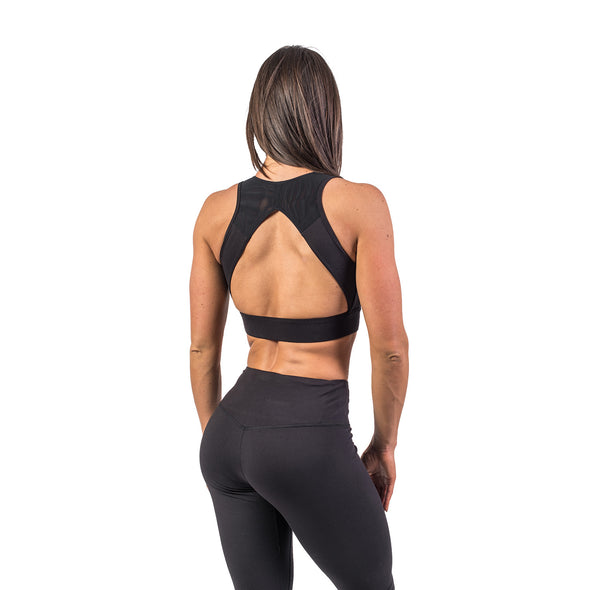 Flawless Sports Bra - Jet Black