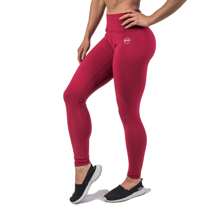 Flawless Leggings - Ruby Red