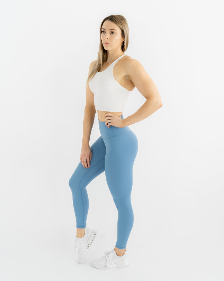 Sculpt Leggings - Baby Blue
