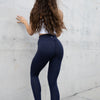 Scrunch Leggings - Navy Blue
