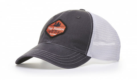 Richardson 111 Garment Washed, Mesh Back Snap Back  Cap