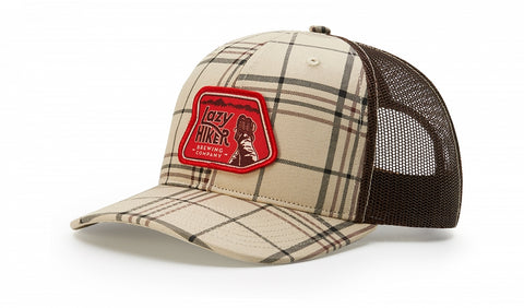 Richardson 112P - Printed Trucker Plaid Snapback - theback9