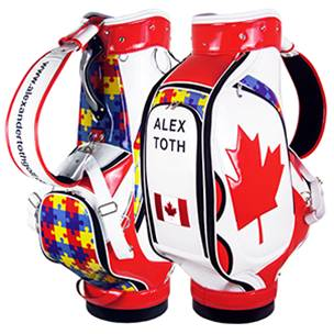 Oakmont Tour Staff Custom Golf Bag