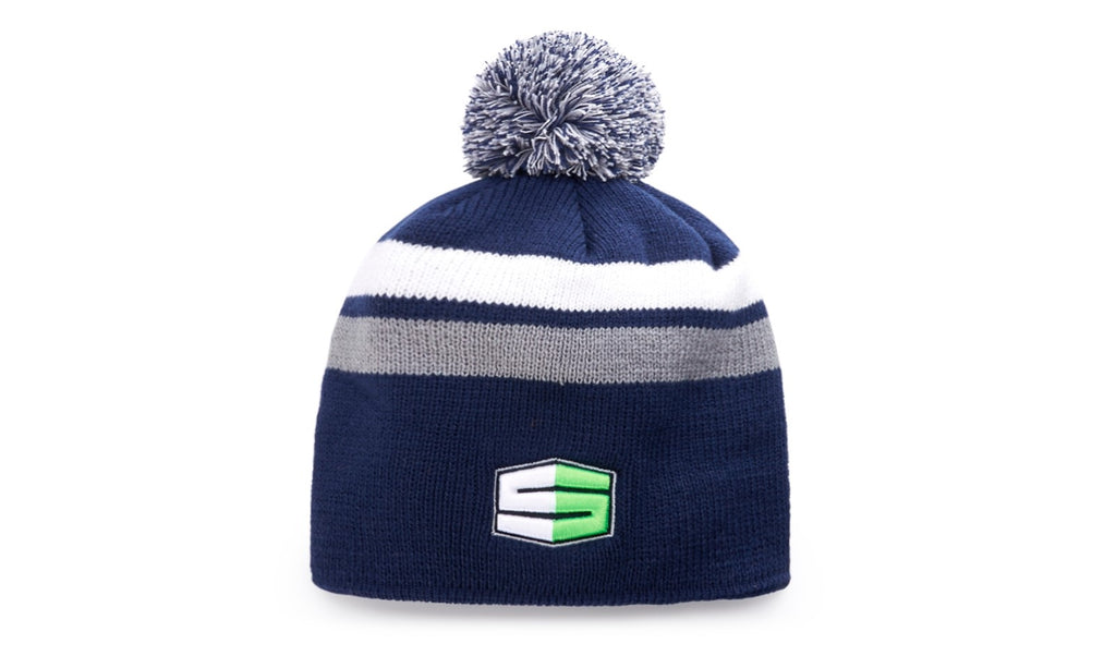 Richardson 131 - 2 Stripe Pom Beanie