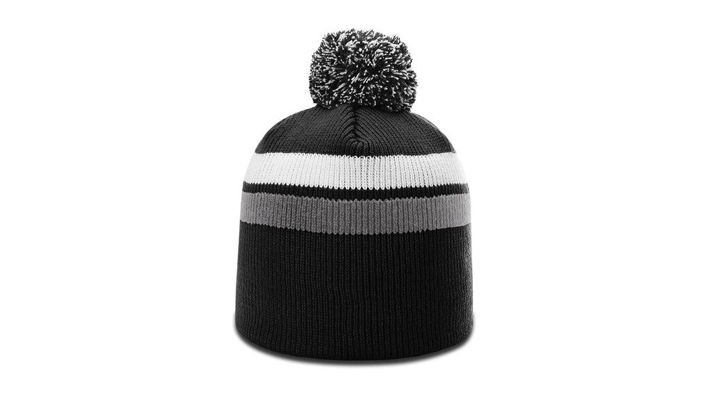 6b226fed231 Richardson 131 - 2 Stripe Pom Beanie – theback9