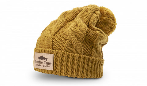 Richardson 141 Beanie - Chunk Twist Knit with Cuff - theback9