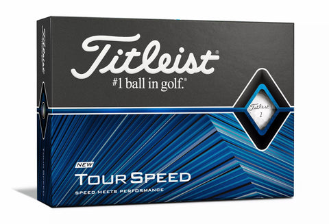Titleist Tour Speed Golf Ball -  White