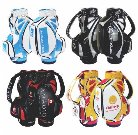Custom Tour Staff Golf Bag - JUNIOR Tournament The Back Nine Online - Custom HeadCovers & Custom Golf Bags