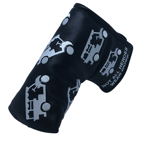 """Beer Cart"" Premium Blade Putter Cover - theback9"