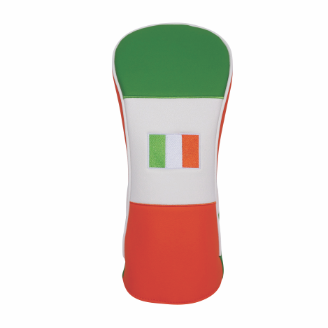 """Irish Flag"" Premium Driver Head Cover - theback9"